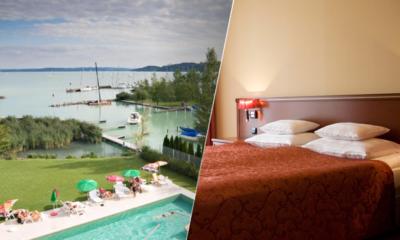 Dovolená v Silverine lake resortu, Maďarsko, Balaton, wellness pobyt