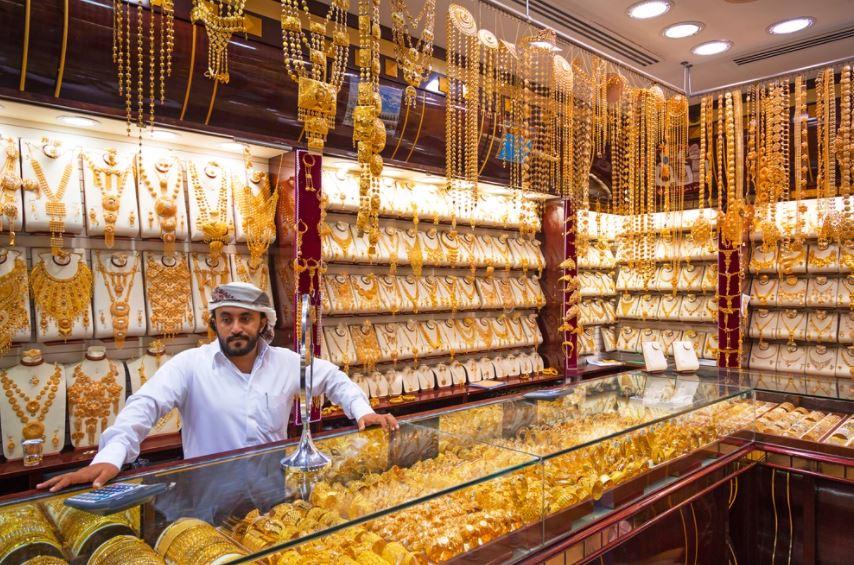 Dubaj - Gold Souk