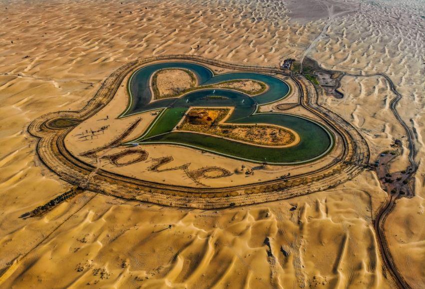 Dubajská Jezera lásky